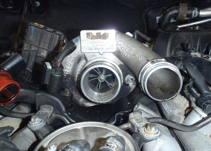Турбина для двигателя Mercedes OM 642 | ТурбоМастер