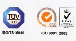Система качества на предприятиях, производящих турбины Jrone и запчасти к ним, соответствует всем международным стандартам.