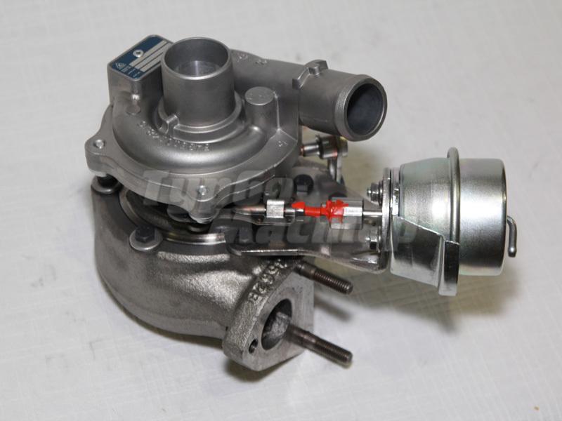 Турбина на двигатель опеля
